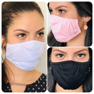 Kit com 3 Máscaras Adesivas