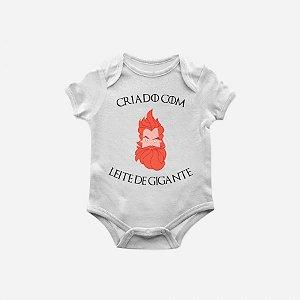 Body bebê game of thrones leite de gigante