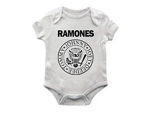 Body bebê ramones.