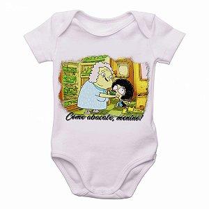 Body Bebê Roupa Infantil Criança Irmão do Jorel Vovó Juju