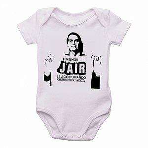body Criança Infantil Roupa Bebê bolsonaro