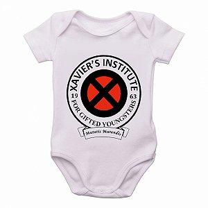 body Criança Infantil Roupa Bebê x men xavier instituto