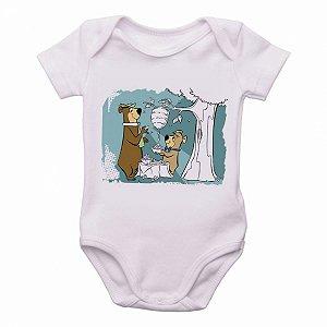 body Criança Infantil Roupa Bebê zé colmeia catatau urso