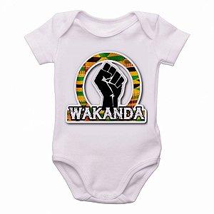 body Criança Infantil Roupa Bebê wakanda mão pantera negra