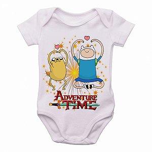 Body Bebê Roupa Infantil Criança Hora da Aventura corações