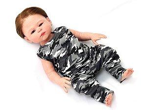 Conjunto Militar Urbano Para Bebê