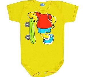 Roupa de Bebê Divertido Bart Os Simpsons