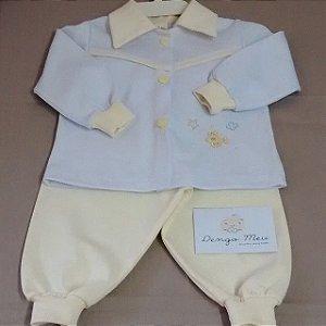 Conjunto moletom baby personalizado