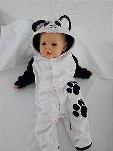 Macacão de Bebê de Panda