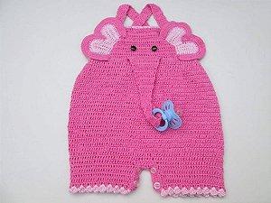 Macação de bebê elefantinho