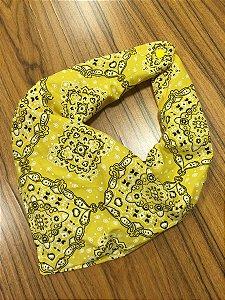 Babador Bandana rock amarelo