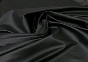 Tecido Couro ecológico - preto