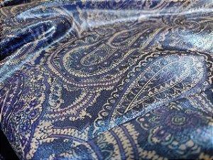 Tecido Sarja Azul