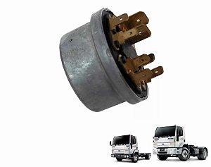 Comutador elétrico de ignição e partida da Trava de direção Ford Cargo