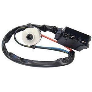 Comutador elétrico de ignição e partida - 3 terminais machos - Trava de direção Caminhão MB 1418 1618 709 710