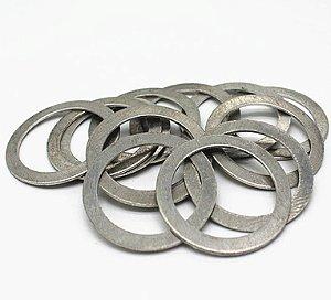 Arruela Alumínio Vedação Bujão Carter 12mm (10 Unidades)