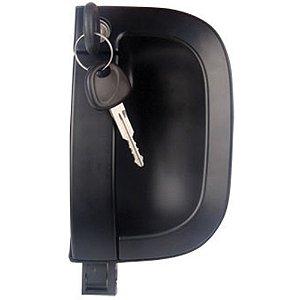 Maçaneta Externa Porta - Lado Passageiro LD - c/ Chave - Kia Bongo