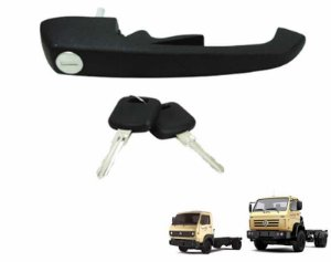 Maçaneta Externa Porta - c/ Chave VW Caminhões 8150 8120 18310 Kombi Clipper 2VC837205