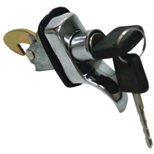 Maçaneta externa - mesmo segredo - Tampa do motor - Cromado - C/chave UNIVERSAL Uso geral
