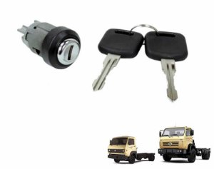 Cilindro de ignição - Pino curto da Coluna da direção - C/chave Caminhão VW Delivery Kombi Ônibus T00905855A
