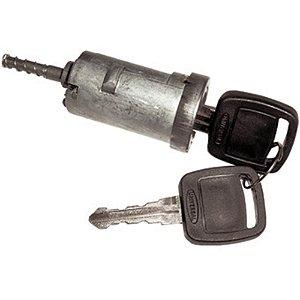 Cilindro de ignição da Coluna da direção - C/chave - Ford Caminhões F1000 F4000 F11000 Após 1984 IBE6T11583A