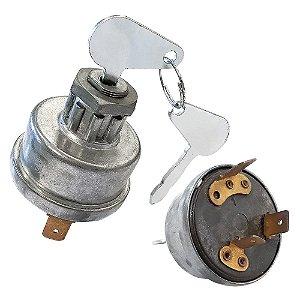 Cilindro de ignição da Coluna da direção - C/chave Agrale G3