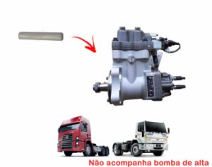 Pino Pistão Cerâmica Bomba Alta Injetora Combustível Cummins ISC 19320e 4532e 3973228 4921431 - STD