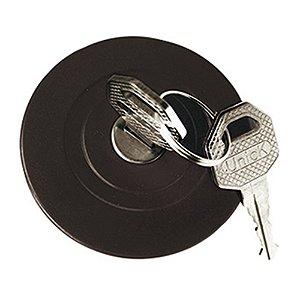 Tampa de combustível - Ventidada - Com chave Chevrolet GM A10 A20 Bonanza C10 C20 D10 D20 F100 94622397 94632818