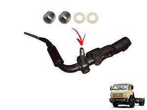 Alavanca Trambulador Marcha Cambio Caminhão VW Worker 13180 15180 17210 C/ Motor MWM X10 Após 2000