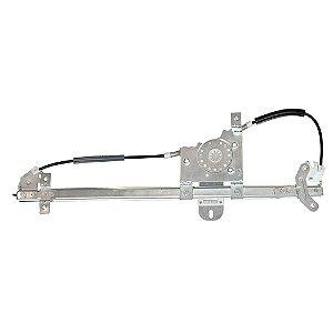 Máquina Vidro Elétrica Porta Dianteira - LD Passageiro s/ Motor - MB 1938S Actros Atego Axor - Fixação Bosch - Fixação Bosch