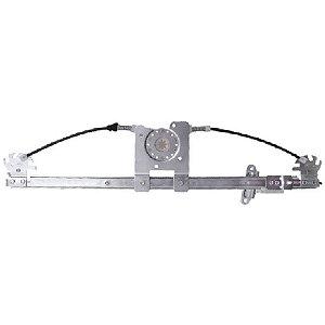 Máquina Vidro Elétrica Porta Dianteira - LE Motorista  - s/ Motor - MB Accelo de 2002 a 2011 - Fixação Mabuchi