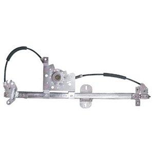 Máquina Vidro Elétrica Porta Dianteira - LD Passageiro s/ Motor - MB Actros Atego Axor - Fixação Brose