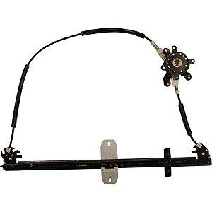 Máquina Vidro Elétrica Porta Dianteira - LD Passageiro s/ Motor - Iveco Cursor Stralis Tector - Fixação Original