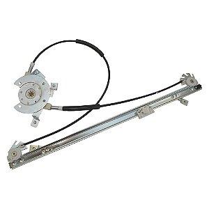 Máquina Vidro Elétrica Porta Dianteira - LE Motorista  - s/ Motor - Iveco Cursor Stralis Tector - Fixação Mabuchi