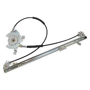 Máquina Vidro Elétrica Porta Dianteira - LD Passageiro s/ Motor - Iveco Cursor Stralis Tector - Fixação Mabuchi