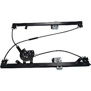 Máquina Vidro Elétrica Porta Dianteira - LD Passageiro s/ Motor - Volvo VM - Fixação Mabuchi