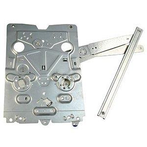 Máquina Vidro Elétrica Porta Dianteira - LE Motorista  - s/ Motor - Volvo FH após 2004 - Fixação Original