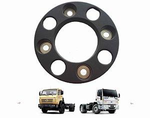 Calota Roda Dianteira 08 Furos Cinza Caminhão Vw Ford Cargo