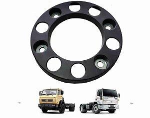 Calota Roda Dianteira 10 Furos Cinza Caminhão Vw E Ford Cargo