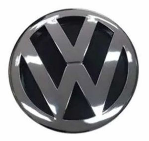 Emblema Logo VW Grade Sorriso Caminhão VW Worker de 1997 à 2000 7100 8100 8140 c/ 18cm