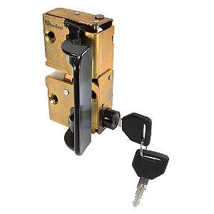 Fechadura Externa Porta - Lado Motorista LE - Mecânica - Ford Cargo Geração 1