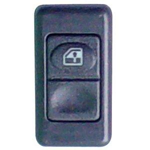 Botão Tecla Acionadora Levantar Vidro Elétrico - simples - 12V MB Caminhões