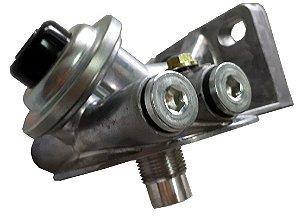 Cabeçote Filtro Separador Água Racor c/ Bomba S/ Esfera Rosca 1'X14Uns-2B Entrada e Saida 16mm