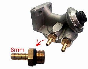 Cabeçote Filtro Racor Combustivel Adaptação Conexão 08mm