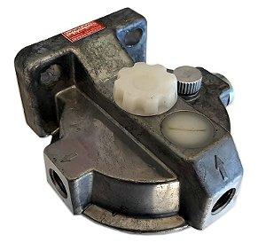 Cabeçote Filtro Separador Água Racor s/ Bomba c/ Válvula Retenção Sprinter CDI 313