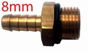 Bico Mangueira Nylon 8mm x M16 x 1,5