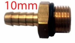 Bico Mangueira Nylon 10mm x M16 x 1,5