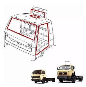 Jg Borracha Cabine Porta Parabrisa Vigia Teto Canaleta e Pestana VW Worker
