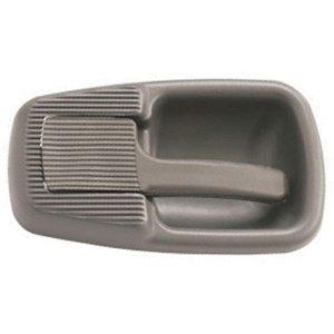 Maçaneta interna porta - Lado Passageiro LD - Cinza - Caminhão VW até 1999 12140 14150 16170 24220 790S 8140 2118370202237