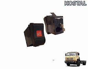 Botão Interruptor Acionamento Eixo Auxiliar VW 23210 23220 23310 17250e 23250e 24250e 13170e 15170e 17180 2T0953235A